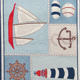 Kids' Nautical Rugs