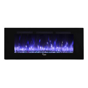 Fuoco Adjustable Wall Mounted Electric Fireplace