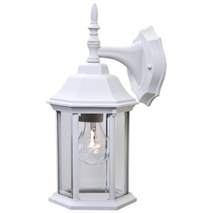 Affordable Price Pritzker Outdoor Wall Lantern By Charlton Home