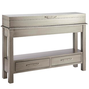 Skandar Console Table by House of Hampton Best Design