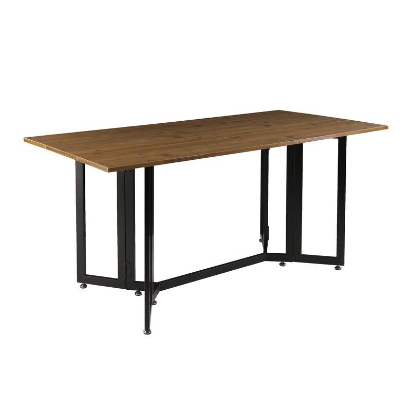 Extendable Dining Tables zipcode design adams extendable dining table & reviews   wayfair