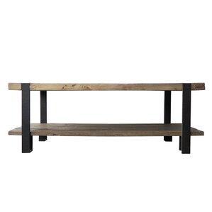 Old Elm And Iron Coffee Table
