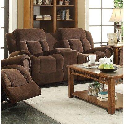 Admirable Heidrick Reclining Loveseat Red Barrel Studio Upholstery Brown Pdpeps Interior Chair Design Pdpepsorg