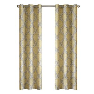 charlisa room darkening curtain panel set of 2 - Room Darkening Curtains