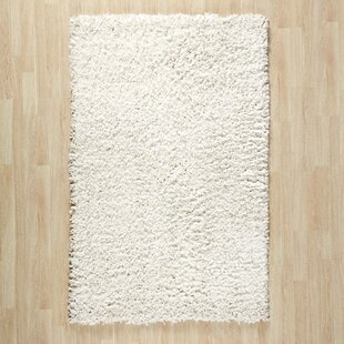 Shag Hand-Tufted Cream Area Rug By Wade Logan