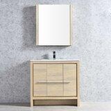 Artemis 36 Single Bathroom Vanity Set with Mirror by Ivy Bronx