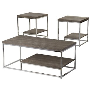 Philippos 3 Piece Coffee Table Set