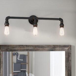 Read Reviews Celeste 3-Light Vanity Light ByTrent Austin Design