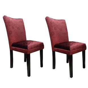 Classic Upholstered Dining Chair (Set of 2)