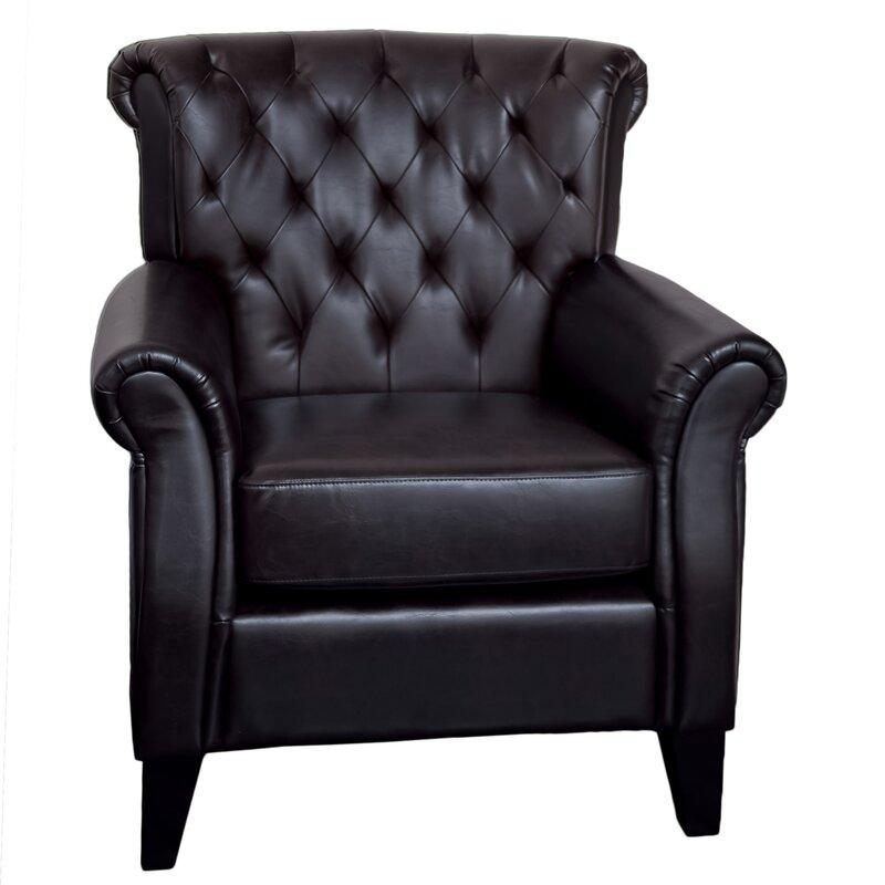 Trumann Tufted Club Chair