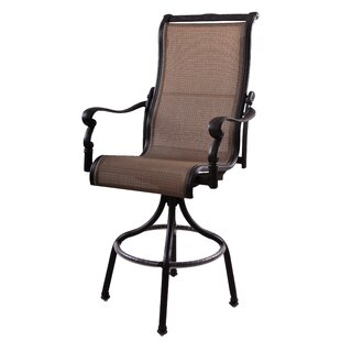 Bagwell Patio Swivel Bar Stool (Set of 6) (Set of 6)