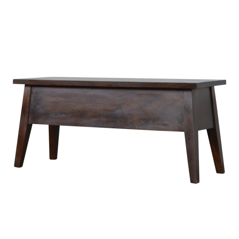 Ivy Bronx Somerton Wood Storage Bench Wayfair