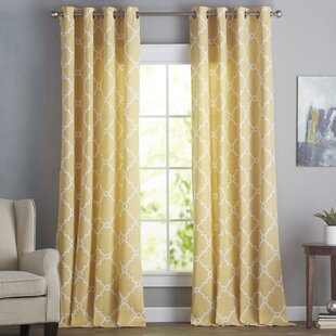 Pastel Yellow Curtains