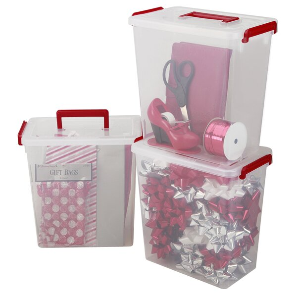 Holiday Ribbon and Bow Storage