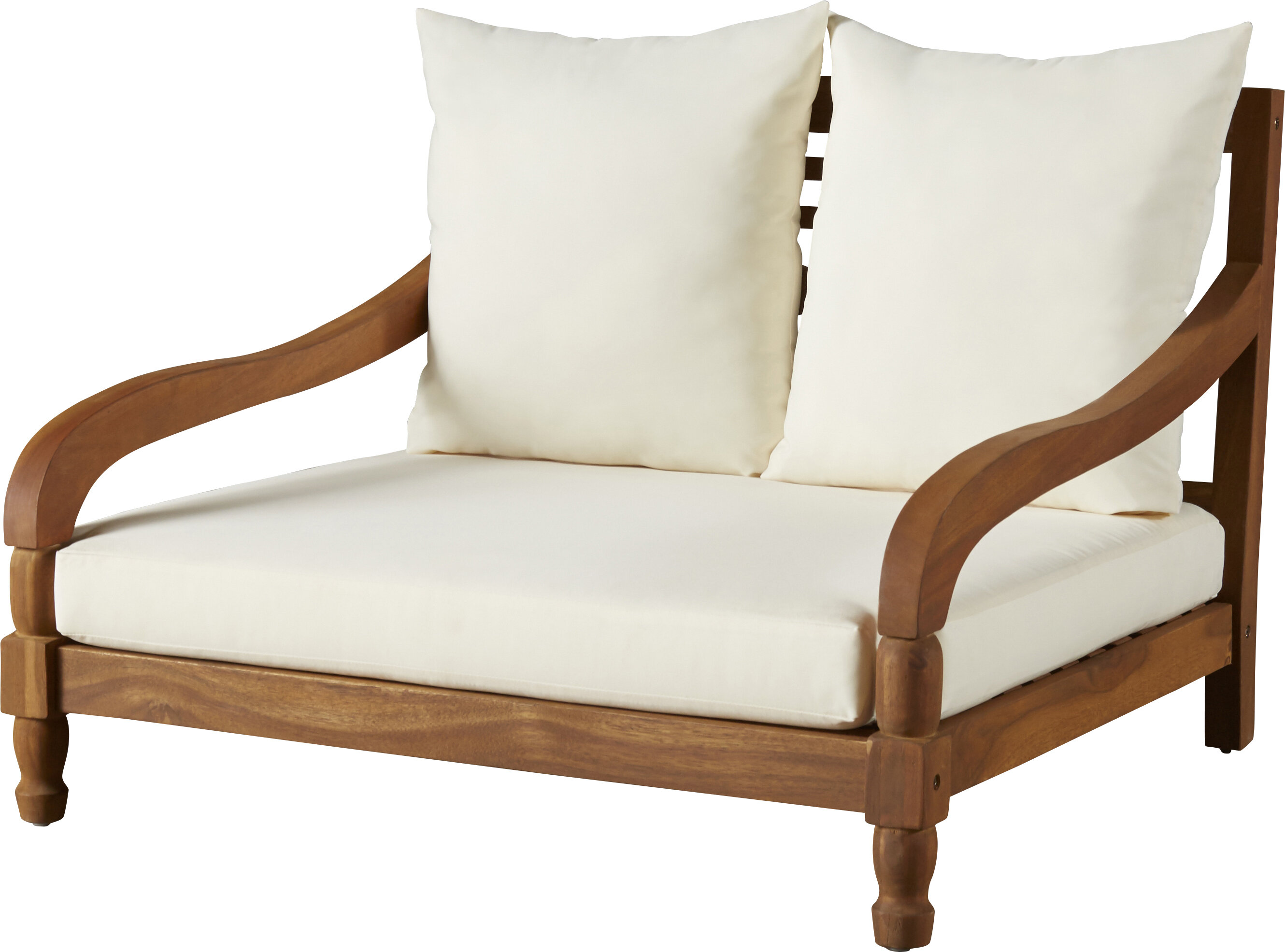 - Wiest Double Chaise Lounge With Cushion & Reviews AllModern