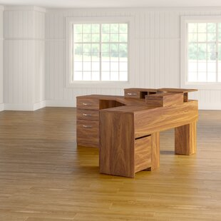 Leavy L-Shape Executive Desk