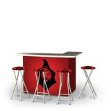 Yeoman Halloween Evil Witch 5-Piece Bar Set