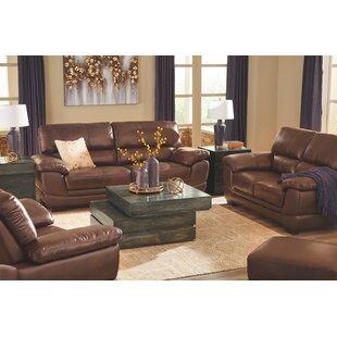 Red Barrel Studio Phelan Leather Configurable Living Room Set