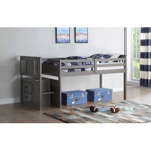 Colangelo Stairway Twin Loft Bed by