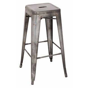 Mckim Metal 30 Bar Stool (Set of 2) by Williston Forge