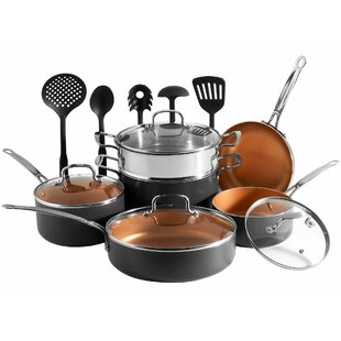 15 Piece Non-Stick Cookware Set By VonShef