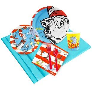 53 Piece Dr. Seuss Paper and Plastic Classics Guest Party Set