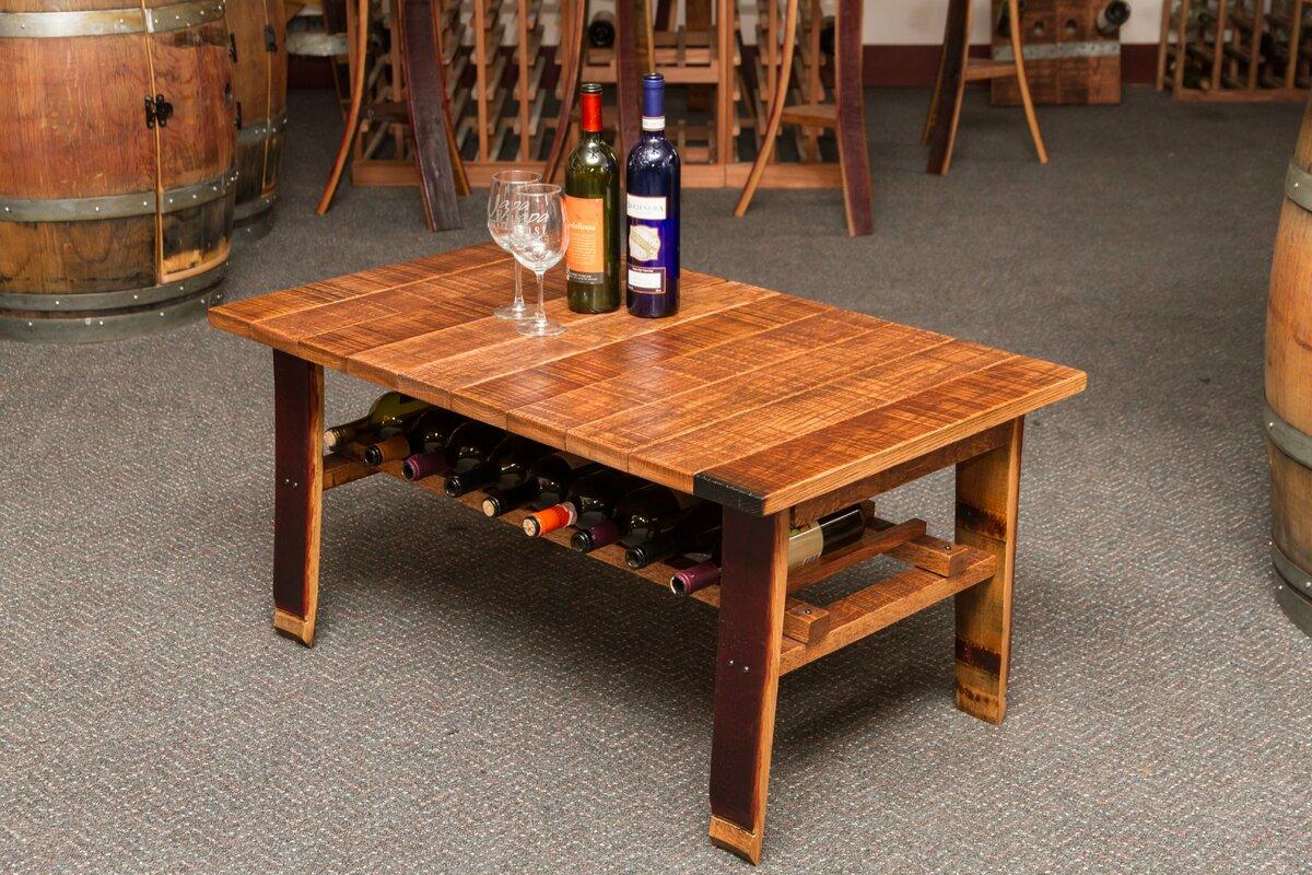 Napa East Collection Wine Country Coffee Table \u0026 Reviews | Wayfair