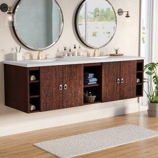 Hobbs 72 Double Bathroom Vanity Set by Ivy Bronx