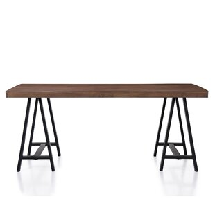 Mannino Wood Dining Table Gracie Oaks