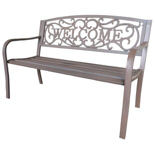 Cast Iron Park Bench by LB International Savings