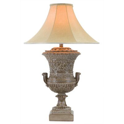 """34"""" Table Lamp Anthony California Base Color: Cordovan Brown"""