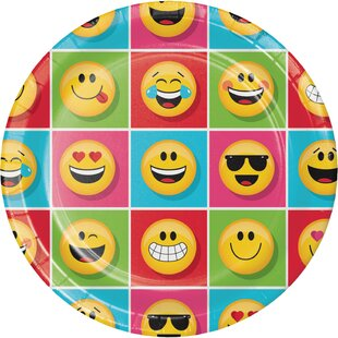 Show Your Emojions Paper Plate (Set of 24)