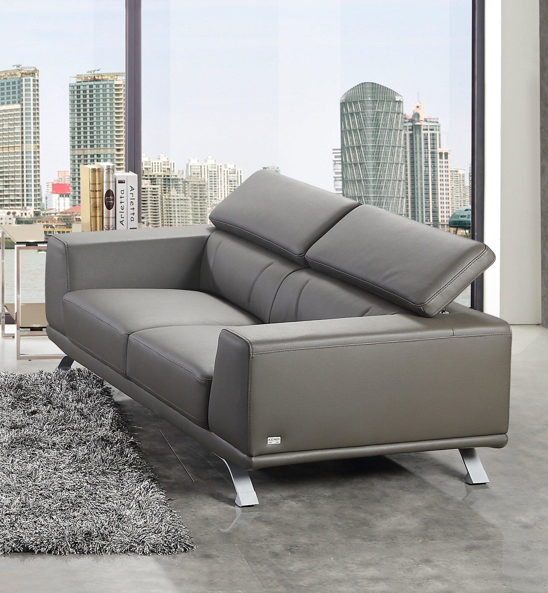 Tremendous Wade Logan Rhea Eco Leather Sofa Wayfair Beatyapartments Chair Design Images Beatyapartmentscom