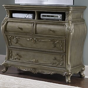 Turville 4 Drawer Media Chest by Astoria Grand