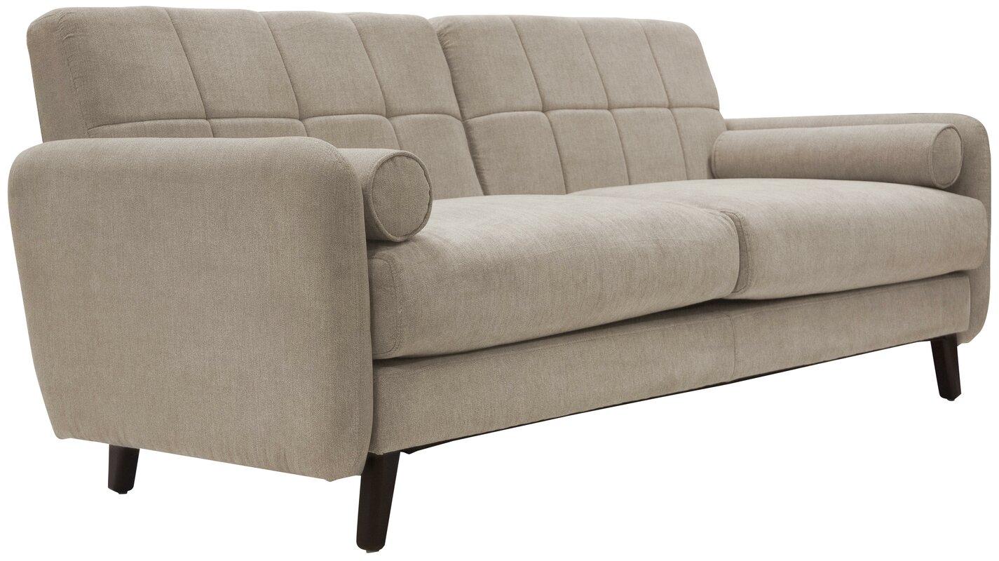 Delightful Natalie Mid Century Modern Sofa