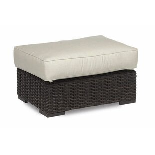 Cardiff Ottoman with Cushion Sunset West