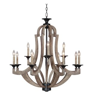 marcoux 12 light candle style chandelier - Candle Chandelier
