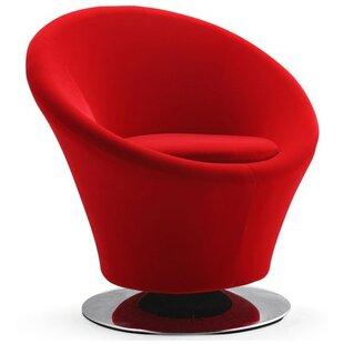 Jaiden Swivel Barrel Chair by Orren Ellis