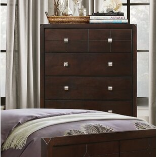 Phoenix 5 Drawer Chest by Wildon Home® Reviews