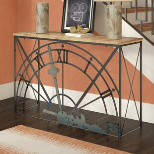 Mccrady Half-Clock Console Table
