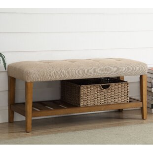 Inexpensive Warwickshire Wood Storage Bench By Charlton Home