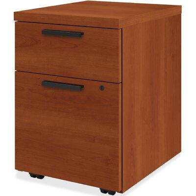 10500 Series 2 Drawer Mobile Vertical File Cabinet HON Finish Cognac