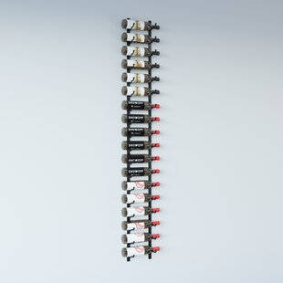 Wall Series 18 Bottle Wall Mounted Wine Bottle Rack