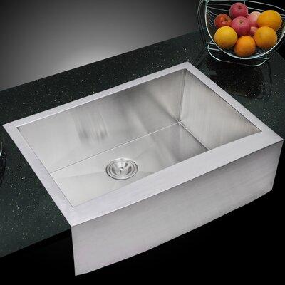 dCOR design Arlon Single Bowl Kitchen Sink & Reviews   Wayfair