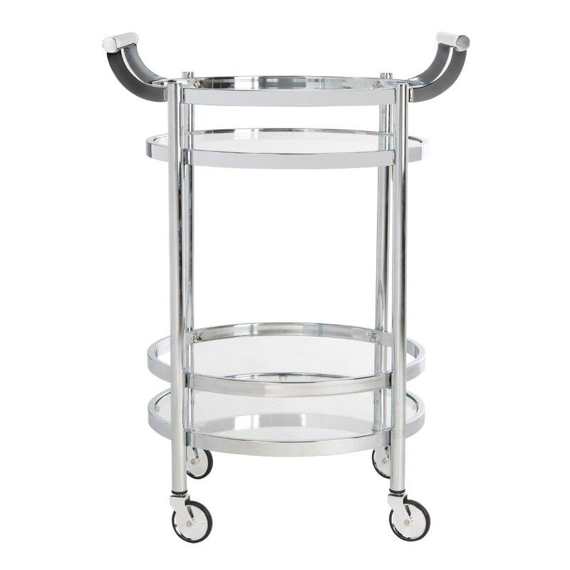 Wrought Studio  Hendrum Bar Cart