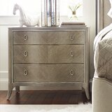 Avondale 3 - Drawer Solid Wood Bachelor's Chest in Taupe by Caracole Compositions