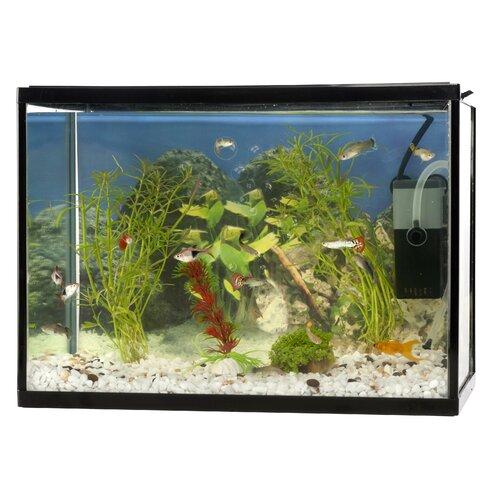 Lorenza Petcomfort Aquarium Set - 5-Piece - 18L -