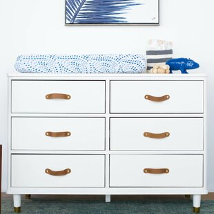 Tanner 6 Drawer Double Dresser by Million Dollar Baby Classic