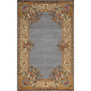 Laurel Hand-Woven Blue Area Rug