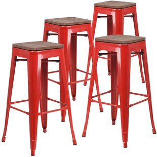Geraldine 30 Bar stool (Set of 4) by Williston Forge